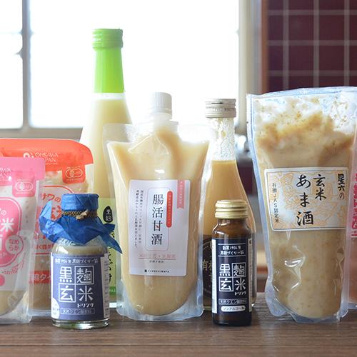 米麹甘酒と酒粕甘酒の違いとは?