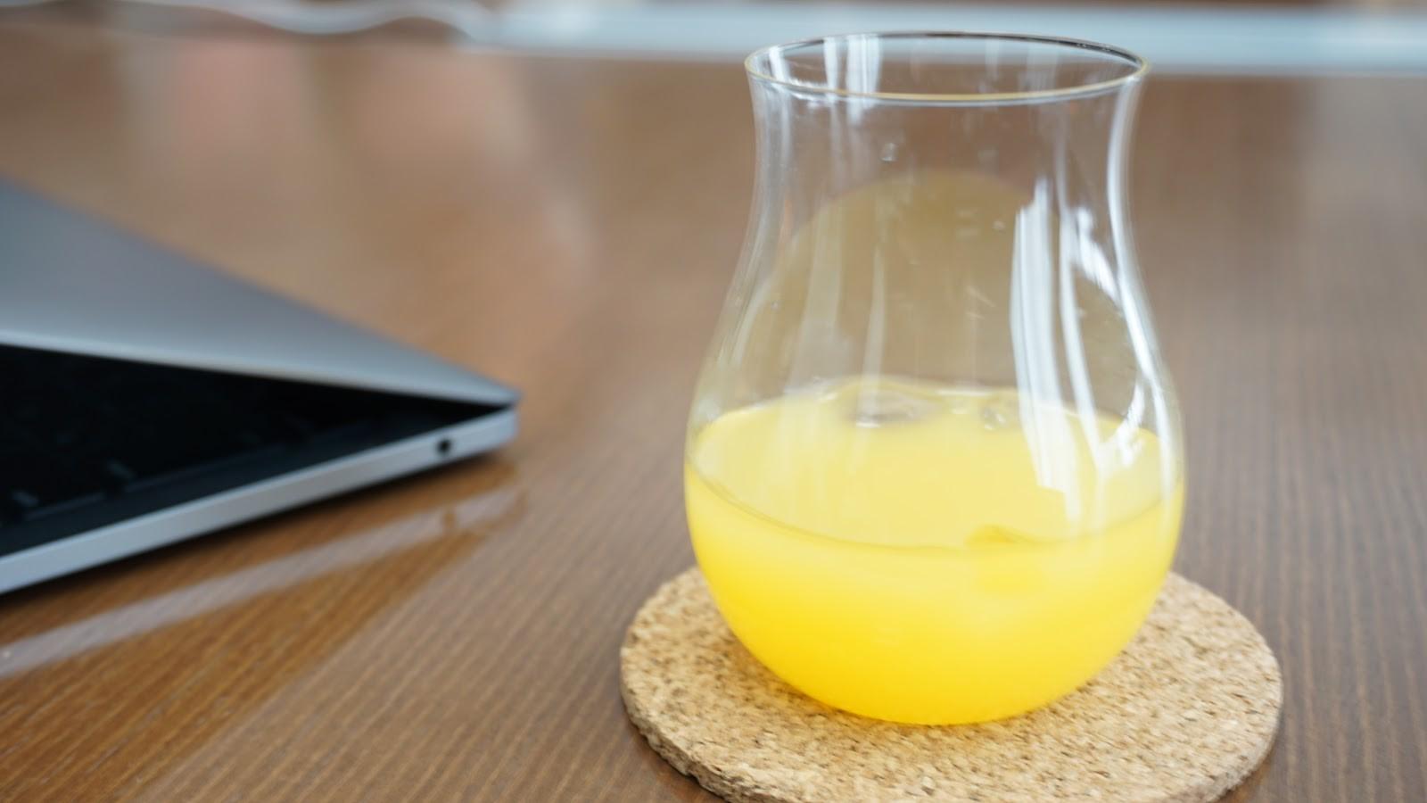 果実酢を使用した酢ドリンク