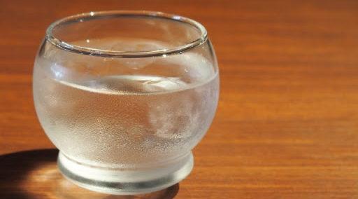 日本酒+水