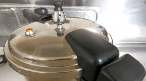 玄米の炊き方(圧力鍋)