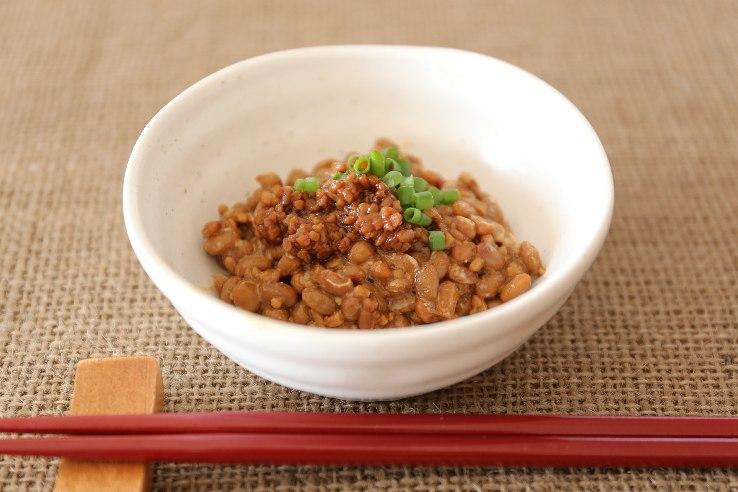 shoyukoji mix with natto