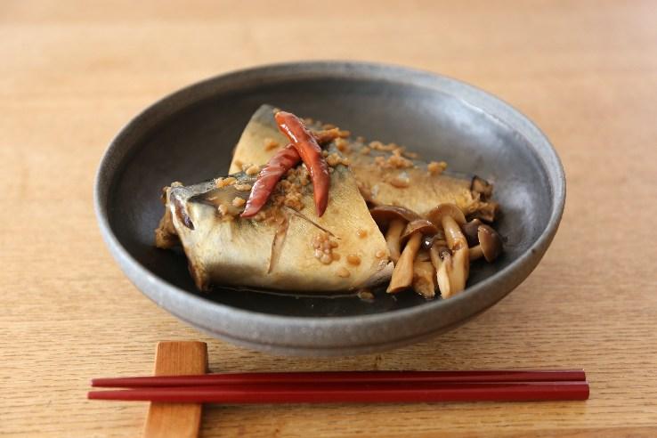 Boiled mackerel